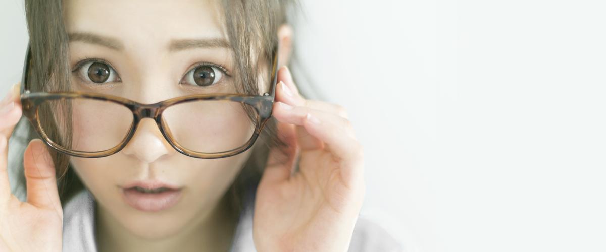 眼鏡をかけている方のまつげエクステ